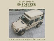 ENTDECKER Italiano (calibri) - Mercedes G Entdecker Gwagen ...