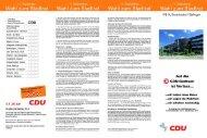 Wahl zum Stadtrat - CDU Stadtverband Garbsen