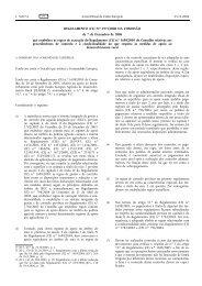 REGULAMENTO (CE) N.o 1975/2006 DA COMISSÃO de ... - EUR-Lex