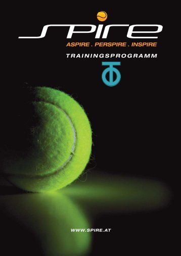 TRAININGSPROGRAMM - tennis club dornbirn