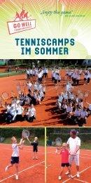TENNISCAMPS IM SOMMER - tennis club dornbirn