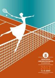 18.–26. AUGUST - Vorarlberger Tennisverband