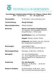 Ausschreibung Allg. Landesmeisterschaften 2012, Stand 04.08.2012