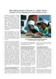 """Mit indonesischen Christen zu """"Allah"""" beten - dirk-siedler"""
