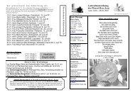 28.01.2007 Herzliches Vergelt´s Gott - Katholische Pfarrei Herz Jesu