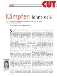 Ulrike Holler - Michaela Böhm | Journalistin | Frankfurt am Main