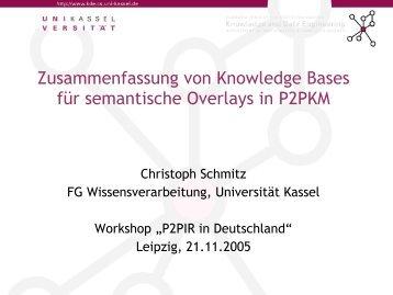 Ein jugendbuch alsprfun zusammenfassen von knowledge bases fr semantische p2p malvernweather Images