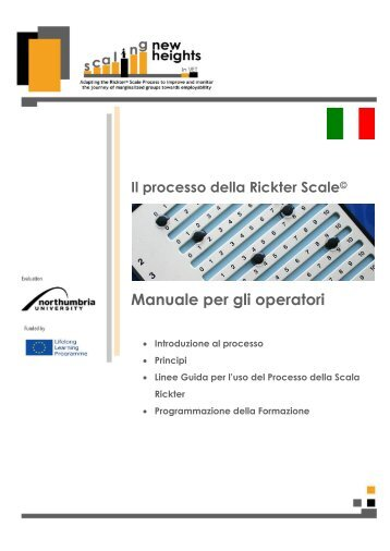 MANUAL of Rickter Scale_ITx - Scaling New Heights in vet