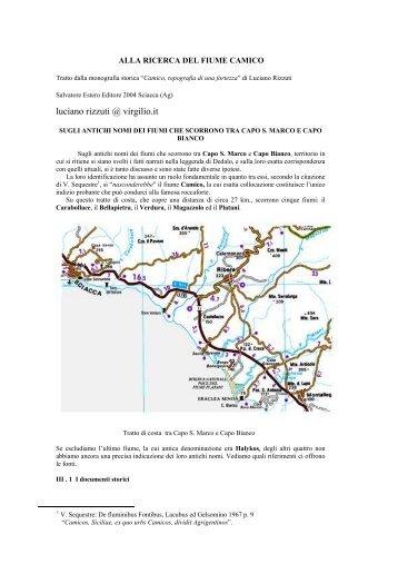 """[PDF] Anteprima del Capitolo """"Alla ricerca del fiume Camico"""""""