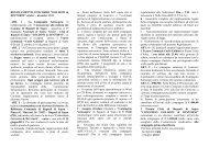 Il Regolamento - FITA Veneto