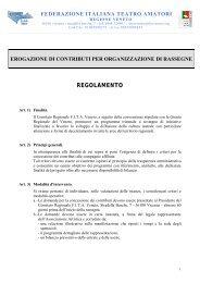 Il regolamento completo - FITA Veneto