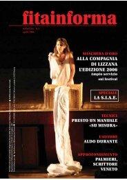 alla compagnia di lizzana l'edizione 2006 la siae - FITA Veneto