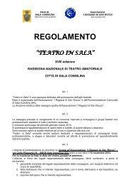 Il bando completo - FITA Veneto