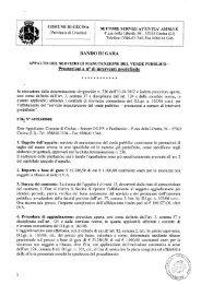 comuni? d_i cecina settore servizi attivita' amm.ve - Comune di Cecina