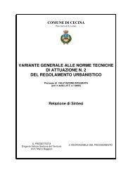 variante generale alle norme tecniche di attuazione n. 2 del ...
