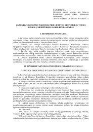 PATVIRTINTA Gyventojų registro tarnybos prie Lietuvos ...