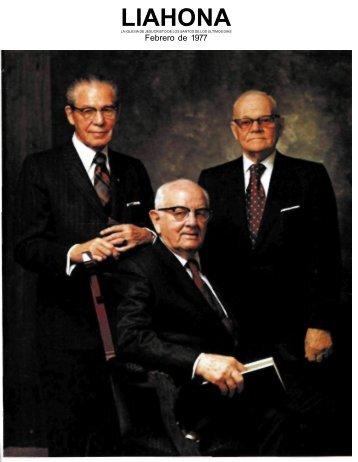 Liahona, febrero de 1977 - LiahonaSud