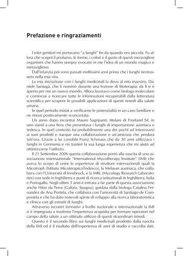 Prefazione e ringraziamenti - Nuova Ipsa Editore