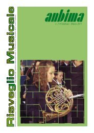 Risveglio Musicale n°2 2011 - ANBIMA