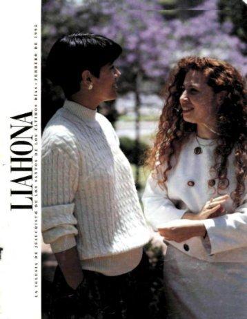 Liahona 1995 Febrero - LiahonaSud