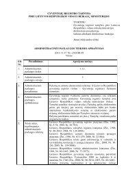 pažymų išdavimas fiziniams asmenims - Gyventojų registro tarnyba