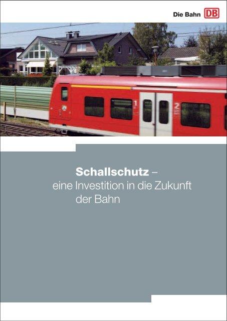 Schallschutz – eine Investition in die Zukunft der Bahn