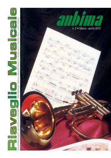 Risveglio Musicale n°2 2010 - ANBIMA
