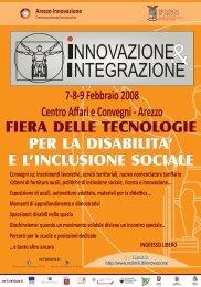 7-8-9 Febbraio 2008 Centro Affari e Convegni - Arezzo