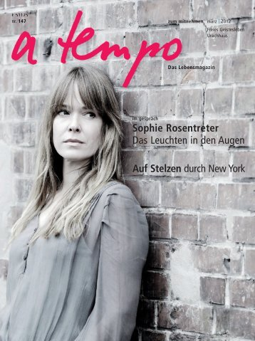 Sophie Rosentreter Das Leuchten in den Augen Auf Stelzen durch ...