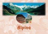 W - Hotel Restaurant Alpina, Grindelwald
