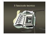 Il fascicolo tecnico - Victoryproject.net