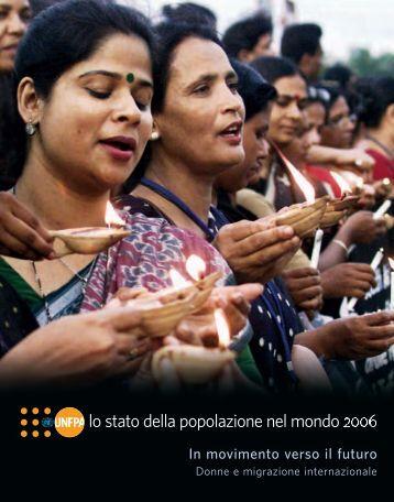 lo stato della popolazione nel mondo 2006 - Aidos