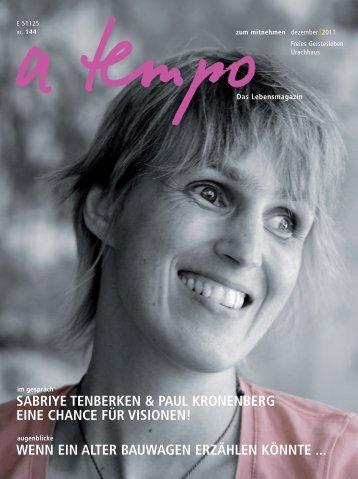 SABRIYE TENBERKEN & PAUL KRONENBERG EINE CHANCE ...