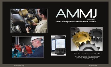 Maintenance & Reliability News - Maintenance Journal
