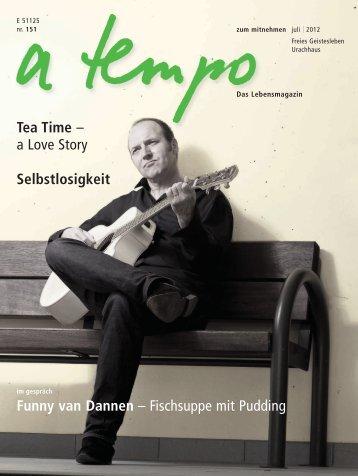 Funny van Dannen – Fischsuppe mit Pudding Selbstlosigkeit Tea ...