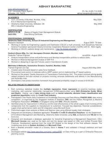 Grant Margolin Resume - Syracuse University