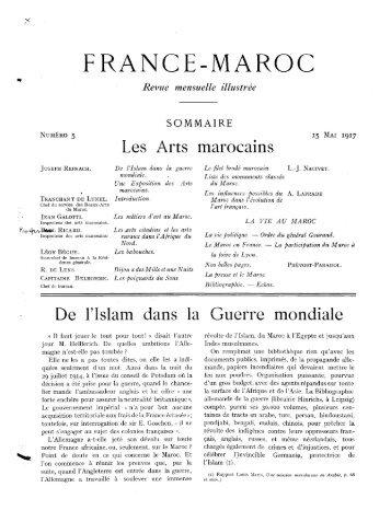 FRANCE-MAROC - Bibliothèque Nationale du Royaume du Maroc