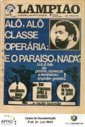18 - LAMPIAO DA ESQUINA EDICAO 14 - JULHO 1979