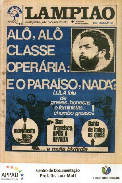 2519e6904f26 18 - LAMPIAO DA ESQUINA EDICAO 14 - JULHO 1979