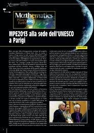 MPE2013 alla sede dell'UNESCO a Parigi - xlatangente