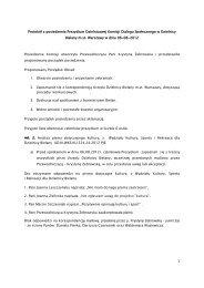 Protokół z posiedzenia Prezydium Dzielnicowej Komisji ... - NGO