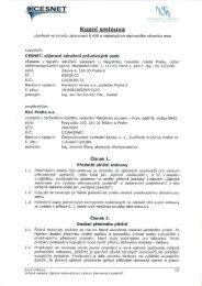 CESNET IXŠF - Veřejné zakázky