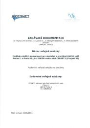 CESNET wr - Veřejné zakázky