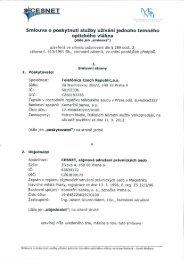 CESNET WI' - Veřejné zakázky