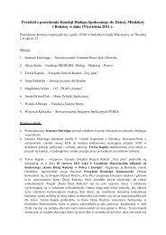Protokół z posiedzenia Komisji Dialogu ... - NGO - Warszawa