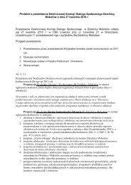 Protokół z posiedzenia Dzielnicowej Komisji Dialogu ... - NGO