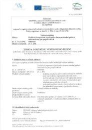 'fil' x * -_ EVROPSKÁ UNłE .twm ' - Veřejné zakázky - Cesnet