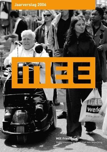 Jaarverslag 2006 - Mee Friesland