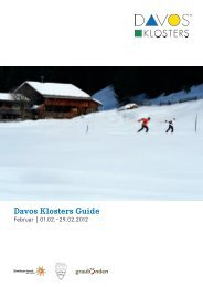 i1hone App Davos Klosters