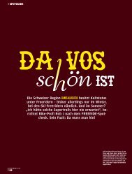 INFO DAvOS/KLOSTERS -  Freeride